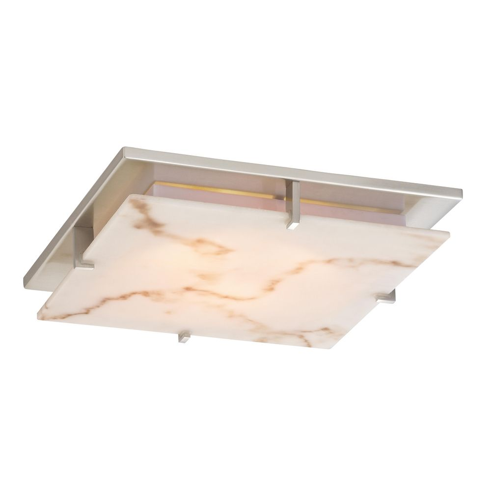 Low profile decorative alabaster ceiling trim for recessed lights aloadofball Gallery