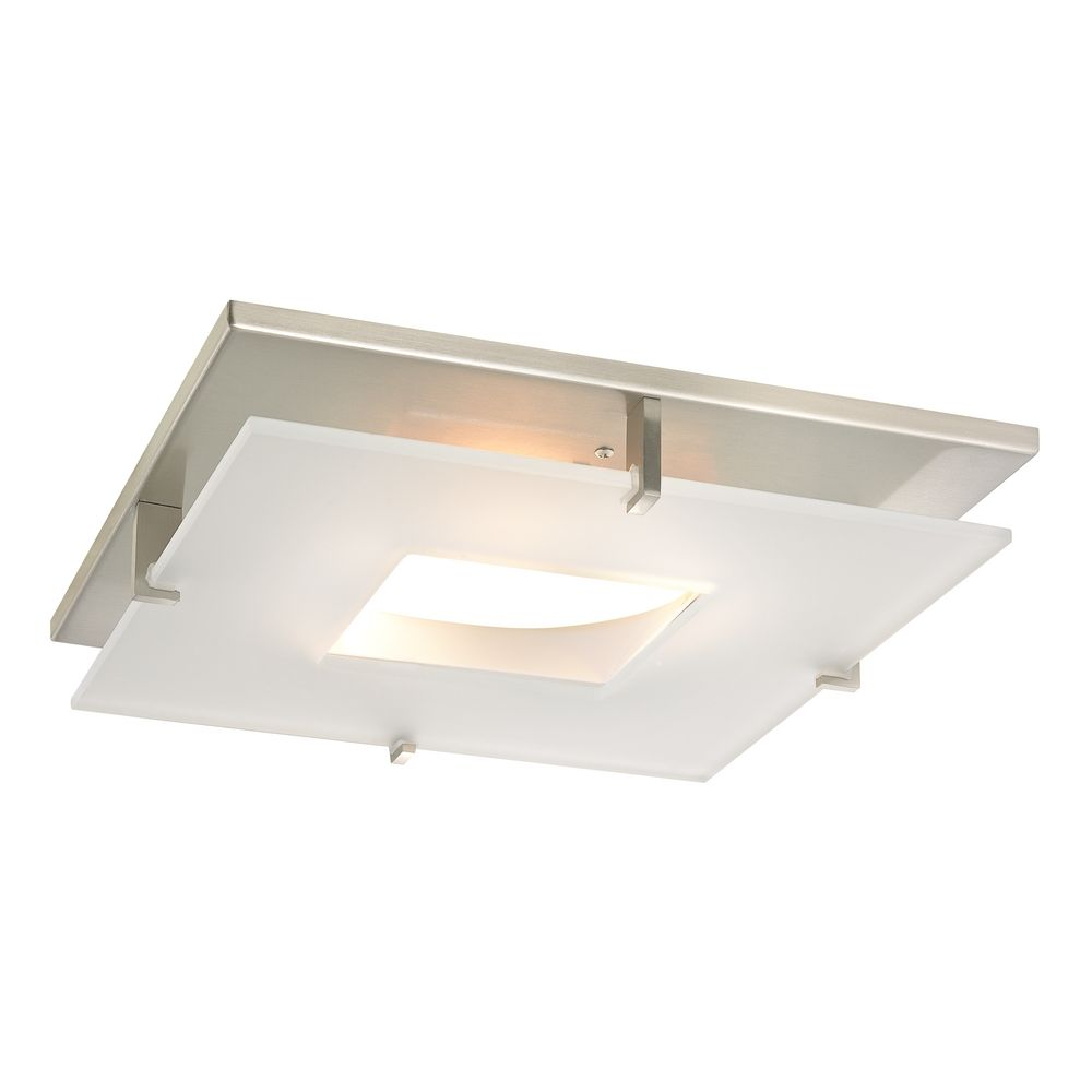 Contemporary square decorative recessed lighting ceiling trim aloadofball Images