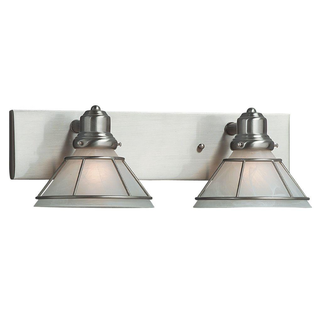 Two-Light Bathroom Light