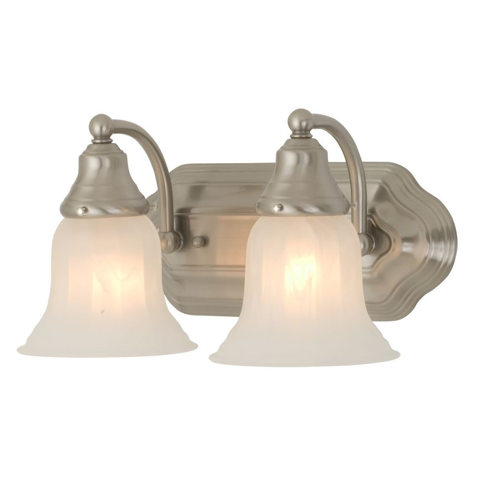 Two light bathroom fixture for Bathroom 2 light fixtures