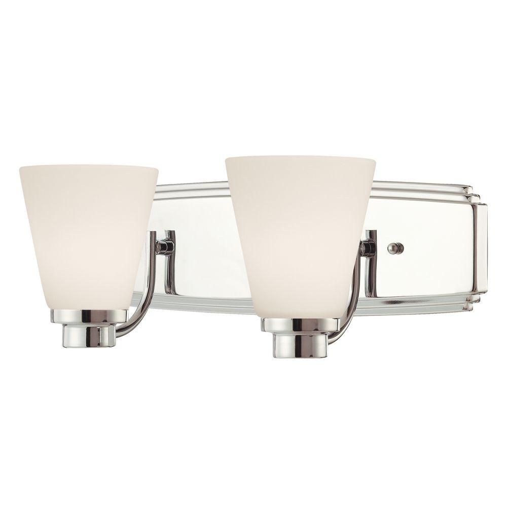 Two Light Bathroom