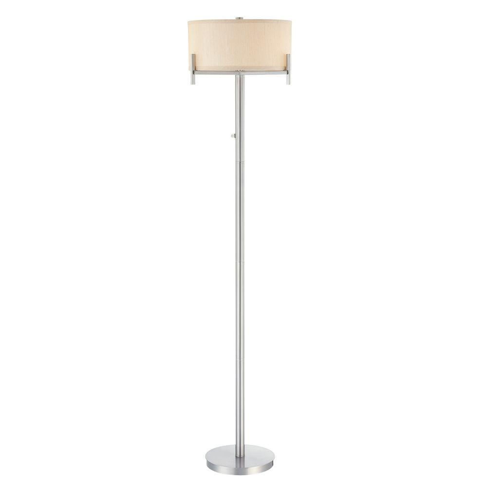 Tecido Floor Lamp
