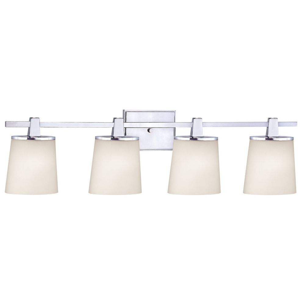 Ellipse Four Light Bathroom Fixture