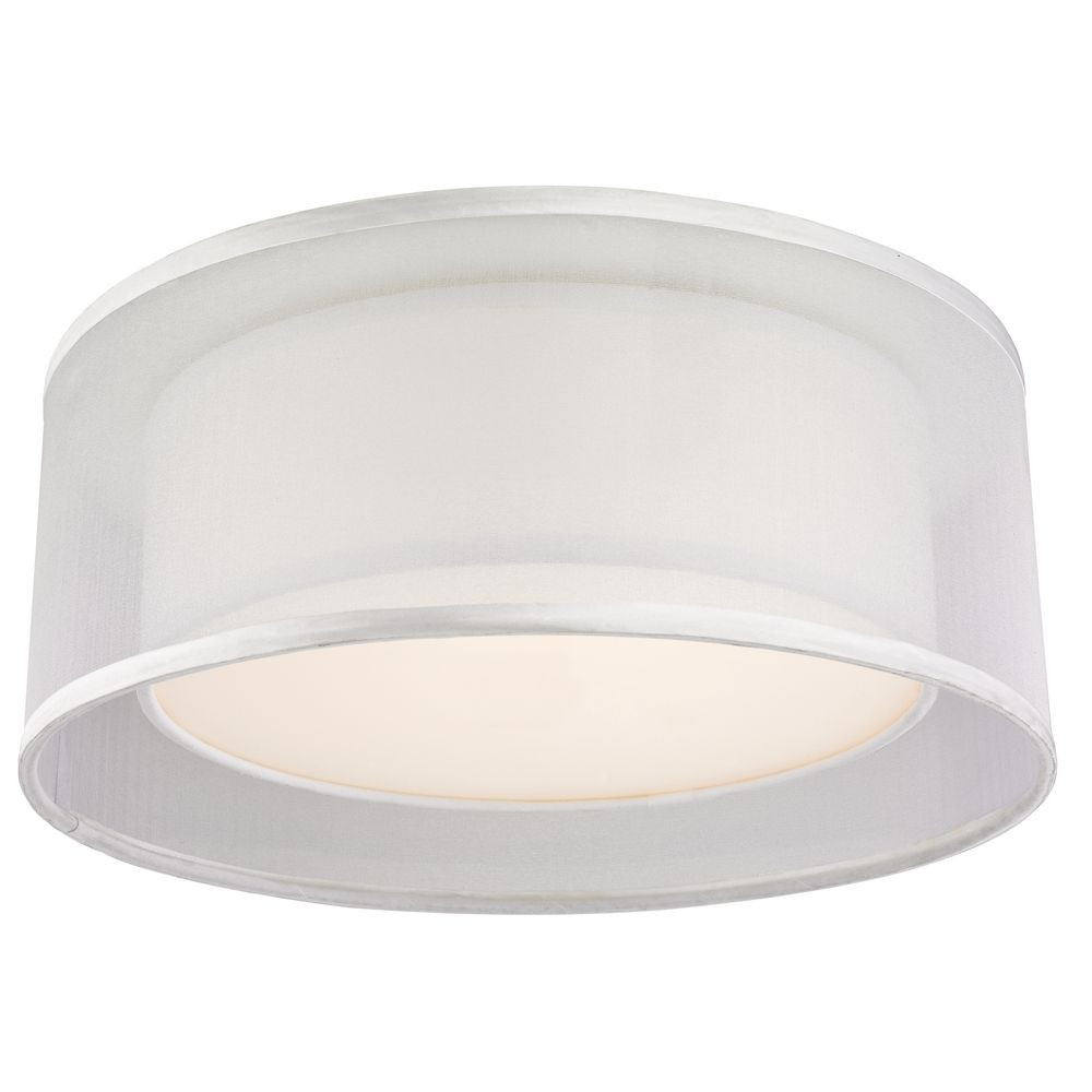 Double Organza Recessed Light Cover