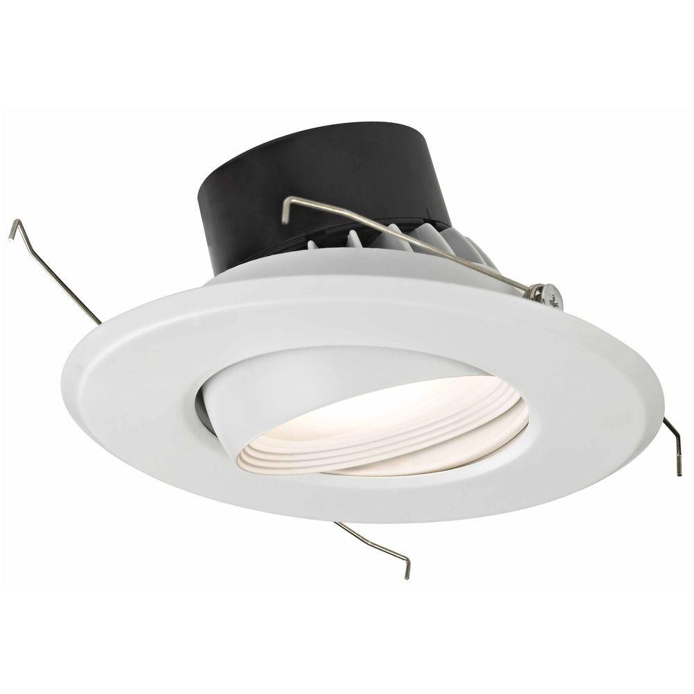 "6"" Dimmable LED Retrofit Adjustable Eyeball Module - 75 Watt Equivalent"