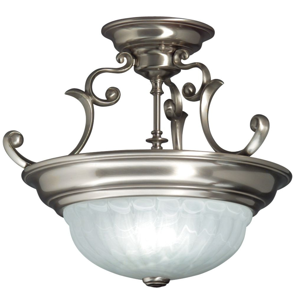 Richland Medium Semi-Flush Ceiling Light