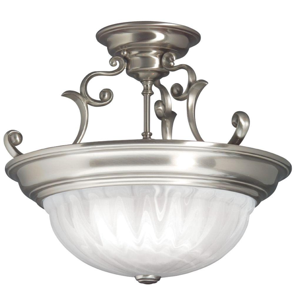 Richland Large Semi-Flush Ceiling Light