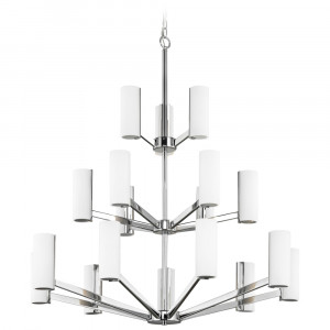 Radiance Eighteen Light Three-Tier LED Chandelier