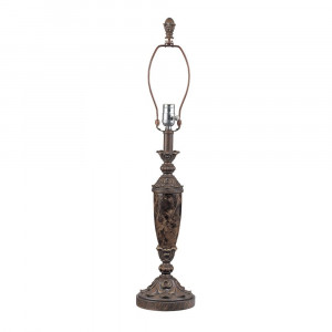 Table Lamp in Victorian with Marble Finish