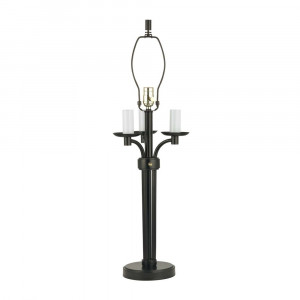 Bronze Table Lamp with Four Lights