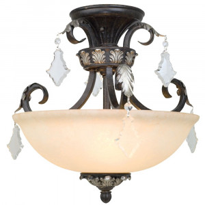 Florence Semi-Flush Ceiling Light