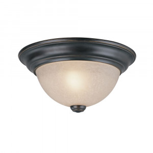 Fireside Small Flushmount Ceiling Light