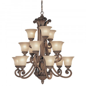 Carlyle Fifteen Light Chandelier