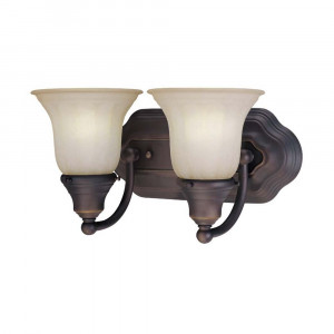 Richland Two Light Bathroom Fixture