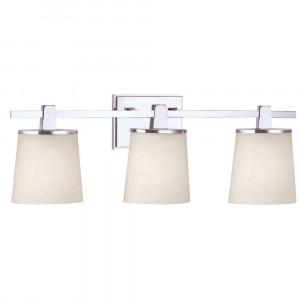 Ellipse Three Light Bathroom Fixture