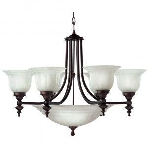 Richland Nine Light Chandelier