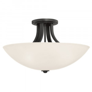 Fireside Large Semi-Flush Ceiling Light