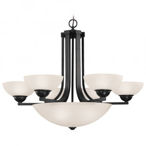 Fireside Nine Light Chandelier