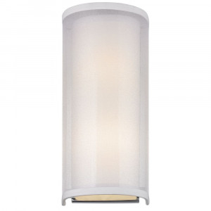 Double Organza Two Light Wall Sconce