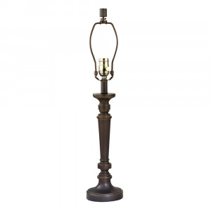 Table Lamp in Bolivian Bronze Finish