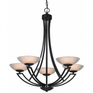 Delany Five Light Chandelier