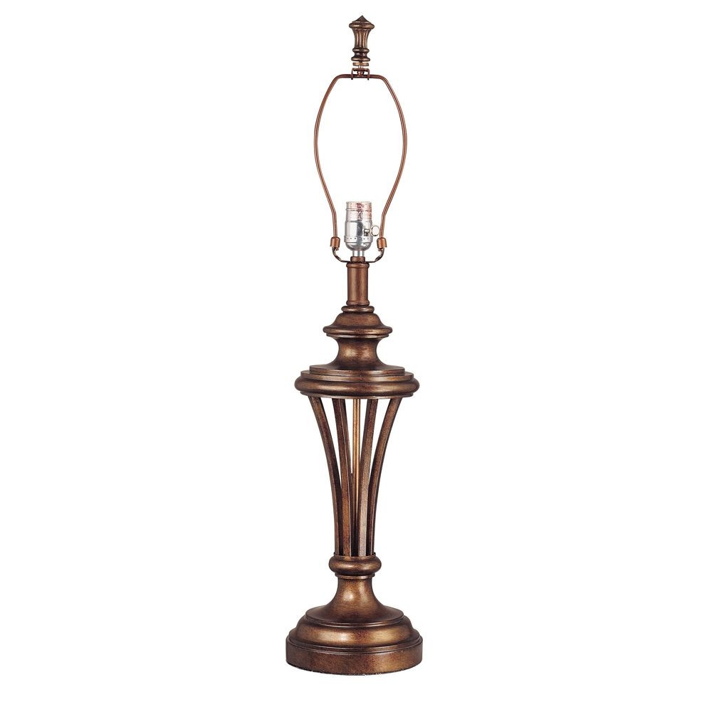 Table Lamp In Antique Bronze Finish