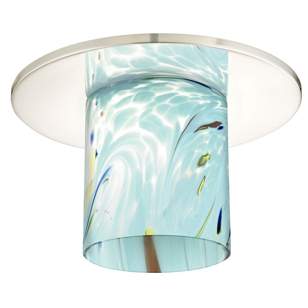 Decorative ceiling trim for recessed lights with frosted glass hurricane recessed light cover aloadofball Choice Image