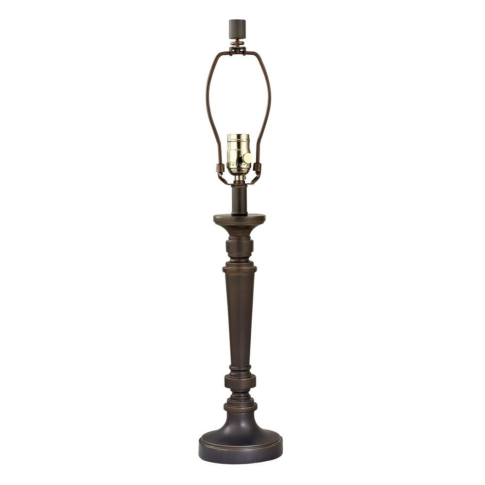 Three Way Switch Table Lamp In Bolivian Bronze Finish