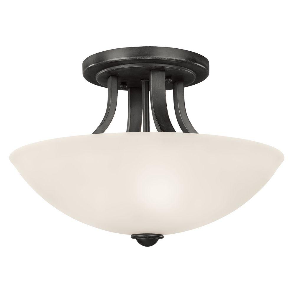 Fireside medium semi flush ceiling light aloadofball Choice Image